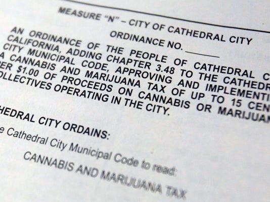 Marijuana tax measure
