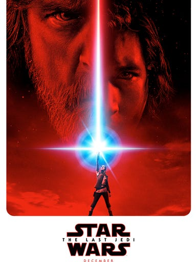 Poster for 'Star Wars: The Last Jedi'