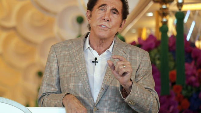 Steve Wynn, CEO of Wynn Palace speaks during a press conference in Macau, China, Wednesday, Aug. 17, 2016.