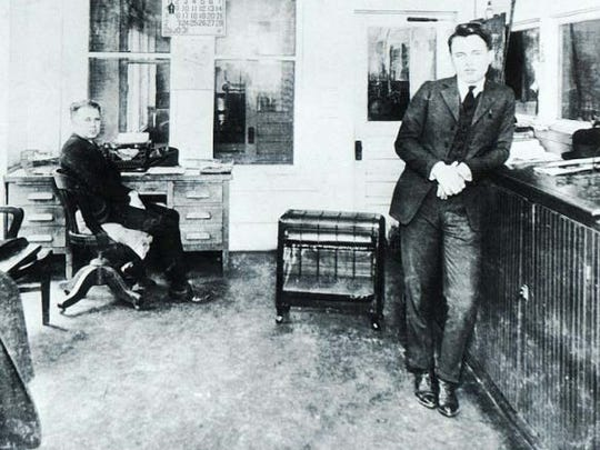 W.A. Thomson, pictured left, managed Hattiesburg Coca-Cola