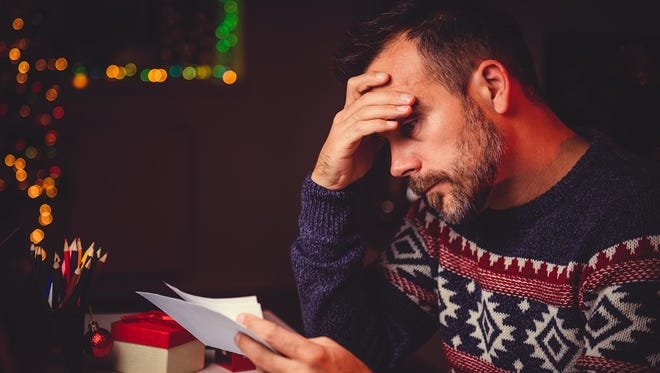 Joy can turn to depression if holiday stress is left unmanaged.
