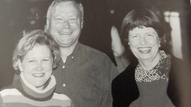 Linda Zionkowski (right) retired recently after 51 years with Barnwell School District 45 where she worked in many roles over the years. She's pictured with Betsy and Marty Harvey at a football game several years ago. Betsy was in Zionkowski's first fifth grade class in 1969.