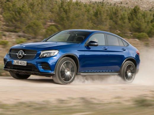 Part Suv Part Car Mercedes Benz Shows Sleek Glc Coupe