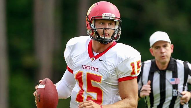 Ferris State quarterback Jason Vander Laan