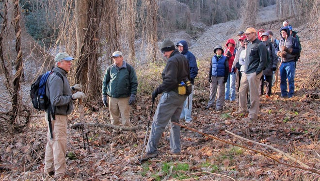 The old stagecoach road beside Swannanoa Creek near Black Mountain has played a large role in the region's history.