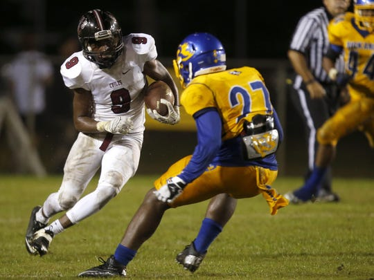 Chiles junior running back Shane Sanders led the area in rushing with 1,247 yards. Sanders and the Timberwolves face Lake City Columbia (9-1) in the first round of the 7A playoffs.