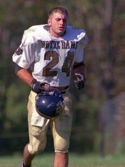Joel Stephens was a high school All-America running