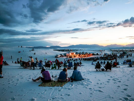 Full Moon Nights at White Sands National Monument feature live music, ranger programs, special guest presenters and artists.