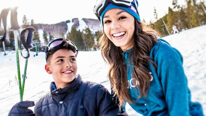 Ski Apache offers individual and group lessons to new skiers.