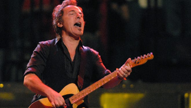 Bruce Springsteen, shown here during a 2008 concert at the Blue Cross Arena, returns for his seventh show at the venue in February.