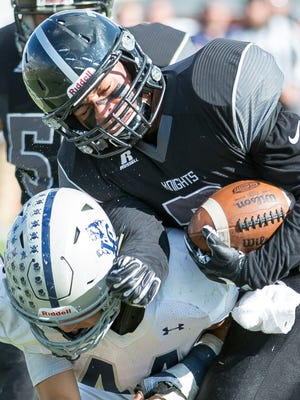 Oñate High School's Matthew Young is one of four local high school players who will sign with Division I schools on Wednesday.