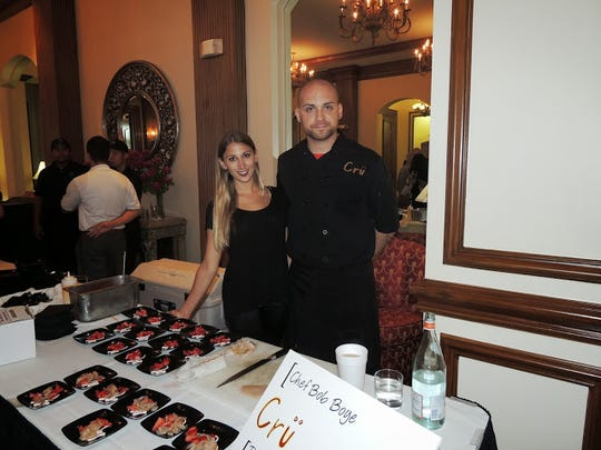Chef Bob Boye of Cru in south Fort Myers.