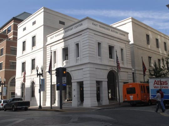 East Tennessee History Center, located at 601 S. Gay St., is home to the East Tennessee Historical Society, the Knox County Archives, and the Calvin M. McClung Historical Collection of the Knox County Public Library.