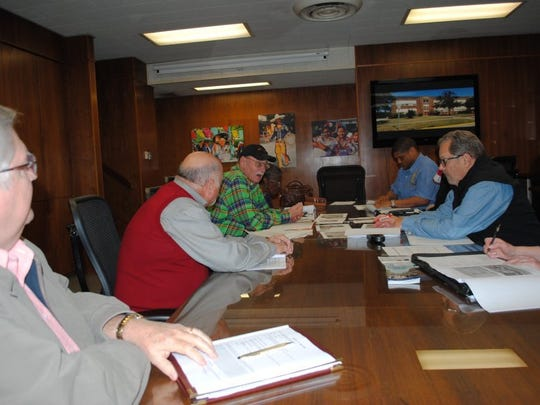 In this file photo, the TIF 3 financing board met to discuss possible action. The Wichita County Tax Office said they completed an in-depth audit of the TIF collection system to make sure they had the most accurate figures.