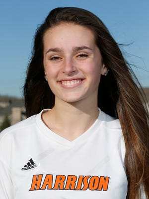 Olivia Geswein of Harrison High School is the 2016 J&C Soccer Player of the Year.