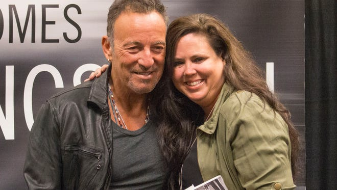 Bruce Springsteen greets fans at the Barnes and Noble bookstore in Freehold to promote the release of his new book—September 27, 2016-Freehold, NJ.