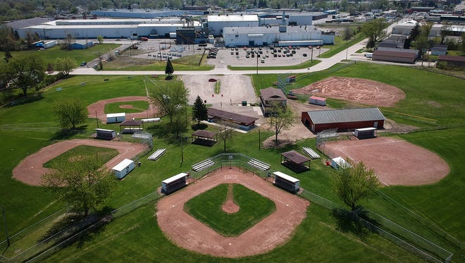 The soil at the Port Huron Little League Park, which is located across Rural Street from the Mueller Brass plant in Port Huron, shows low levels of lead. The area surrounding Mueller Brass and Harrison Point neighborhood have a calculated life expectancy of 72.8 years.