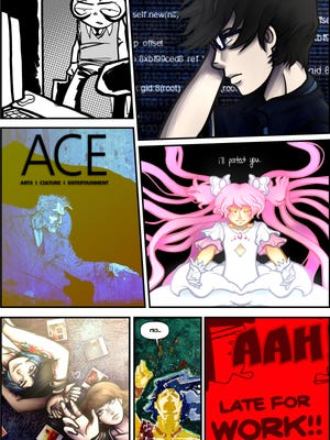 Anime and comic art by Ben Moss and Bailey Harris, compiled by J. Ben Moss