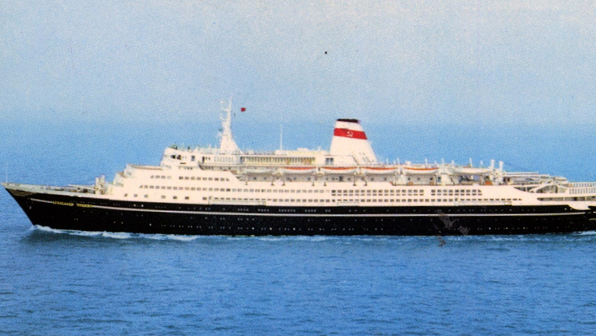 In 1980, the Pushkin was given an extensive refit that expanded the superstructure fore and aft when the ship began to operate in full-time cruise service.