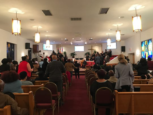 The Paterson United Pastors Council held a church service