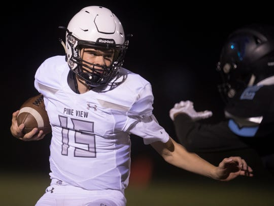 Pine View and Canyon View faced off Sept. 7, 2018.