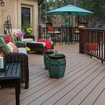 Composite decking is available in several different types of boards with varying looks, colors and qualities.