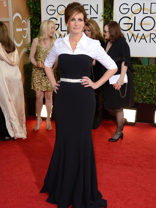 AP 71st Annual Golden Globe Awards - Arrivals_001