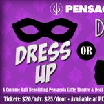 Pensacon will present the Dress Up or Dress Up Costume Ball on Aug. 26. The event will benefit Pensacola Little Theatre and Deaf and Hard of Hearing Services of the Emerald Coast.