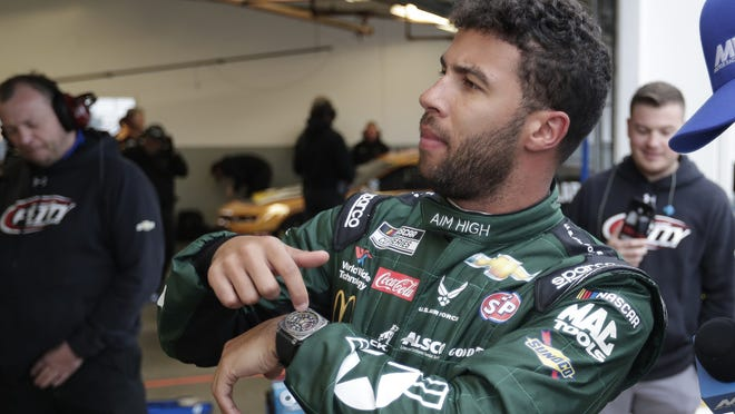 NASCAR driver Bubba Wallace has been frustrated not many of his auto racing peers have taken the time to speak out against racism.