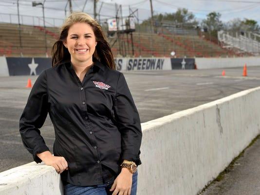 Johanna Long-NASCAR