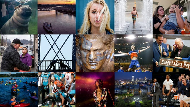 The Enquirer photographers share their most memorable photos of the year.