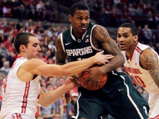 Michigan St Ohio St Basketball