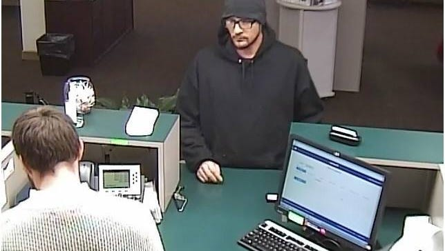 The Hendersonville Police Department is looking for a suspect in a bank robbery at U.S. Bank at 169 East Main Street.
