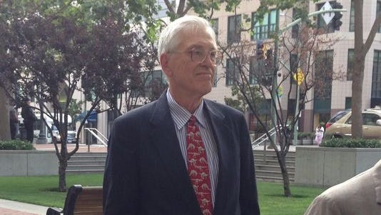 Stanford economist Roger Noll, a key witness for the plaintiffs in the anti-trust lawsuit against the NCAA.