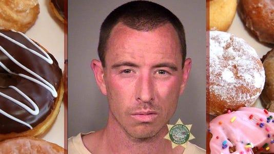 Donut van theft suspect