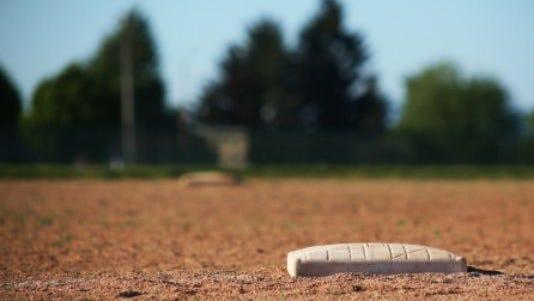 Softball field.