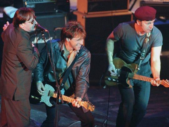 Southside Johnny, Jon Bon Jovi and Bruce Springsteen