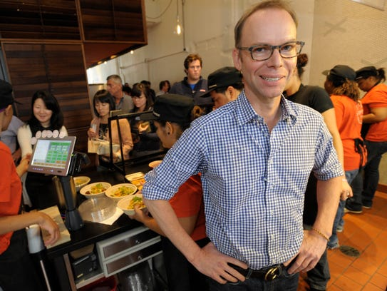 Steve Ells, founder of the Chipotle restaurant chain,