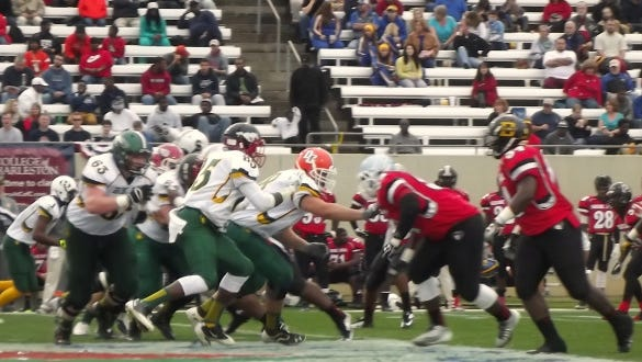 The Shrine Bowl takes place each year in Spartanburg, S.C.