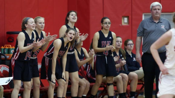 Somers defeated Rye 56-40 in a girls basketball playoff