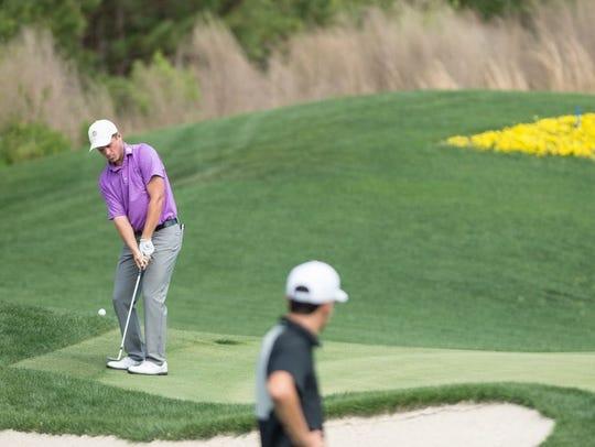 Garrett Barber, left, last week won the prestigious Rolex Tournament of Champions at PGA National Resort & Spa in Palm Beach Gardens.