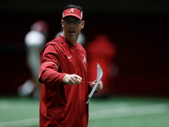 Alabama Associate Head Coach/Quarterbacks Dan Enos