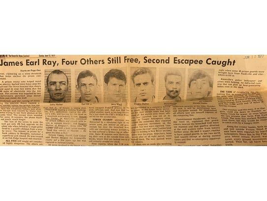 News clipping from June 12, 1977 detailing the continued