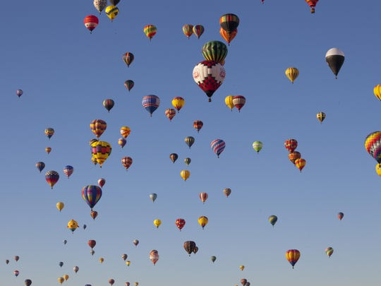Be sure to rise early for the Albuquerque International Balloon Fiesta's Grand Ascension--the liftoff of more than 700 colorful balloons.