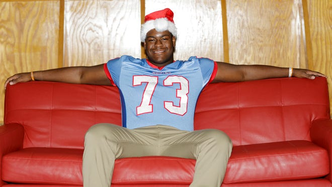 University School of Jackson offensive lineman Trey Smith is the 2016 All-West Tennessee Football Player of the Year.