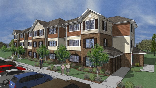 A new, 120-unit apartment complex is planned to begin construction this month in Arden, just outside of Asheville. The project is scheduled to be completed in August 2018.