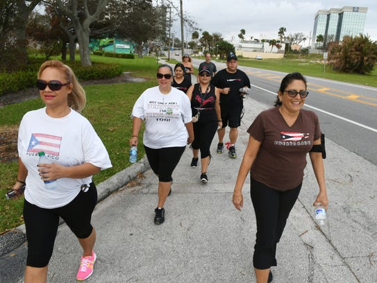 Diana Perez, Marilyn Elwood and other supporters of
