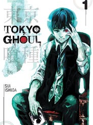 """The cover art for the first issue of """"Tokyo Ghoul,"""""""