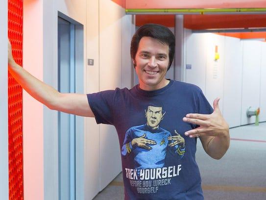 Ticonderoga Star Trek Tour Tshirt