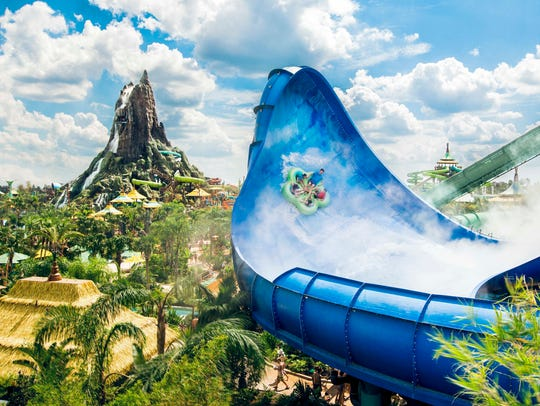 Honu at Volcano Bay  by Universal Orlando Resort